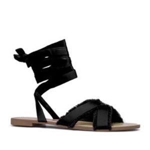 ShoeDazzle Megz Flat Sandals size 9